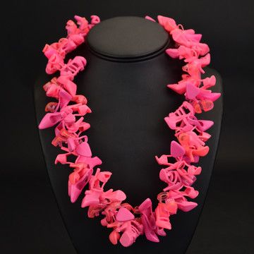 Bubble Gum Doll Shoe Necklace© now featured on Fab.