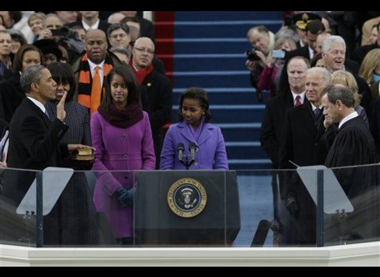 President Obama's Swearing In Ceremony, 2nd Term