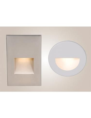The LEDme series of step and wall lights from WAC Lighting offer a sleek profile that's safe for indoor and outdoor use. TM 3934. www.waclighting.com
