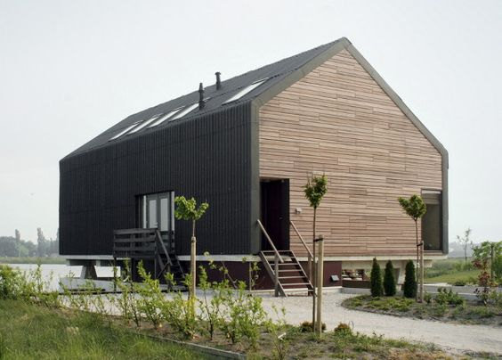 Modern Barn Design In Netherlands By Jagerjanssen