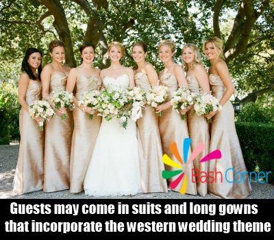 explore western wedding ideas