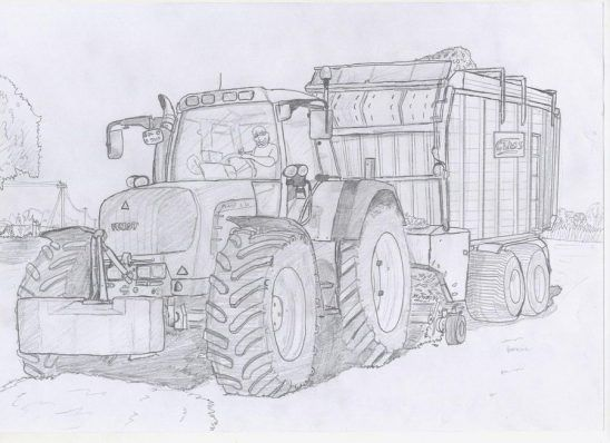 Traktoren Ausmalbilder Ausmalen Ausmalbilder Traktor Ausmalbilder
