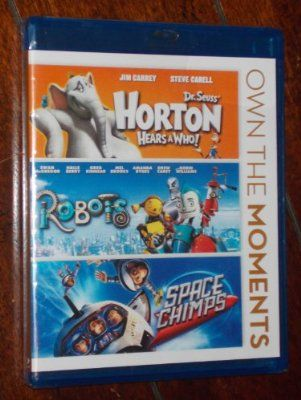 Horton Hears a Who/Robots/Space Chimps (Own the Moments Triple Feature)