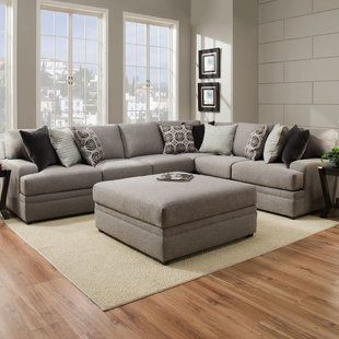 Benchcraft Pantomine Sectional Wayfair With Images Grey Sectional Sofa Living Room Sectional