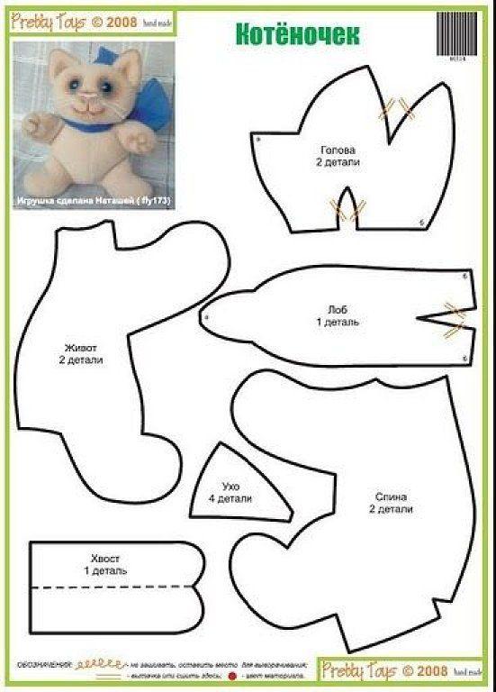 Manualidades De Gatos - Galería De Diseño Para El Hogar - Gomved.com