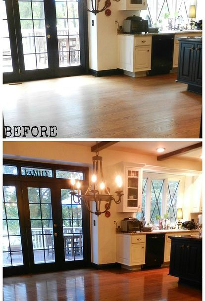 no sanding non toxic no mess hard wood floor refinishing, flooring, hardwood floors
