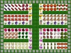 logiciel de dessin du plan de votre jardin potager application en ligne gratuite jardin. Black Bedroom Furniture Sets. Home Design Ideas