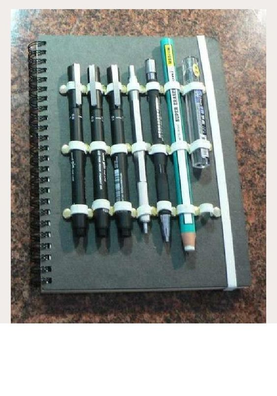 DIY Journal Pencil Holder