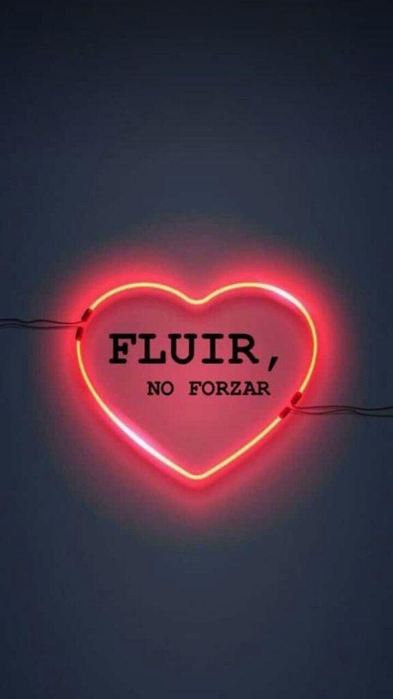 FLUIR, NO FORZAR #frases #citas #positividad #inspiracion #conocermemas