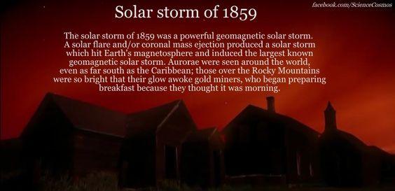 solar storm of 1859 - photo #2