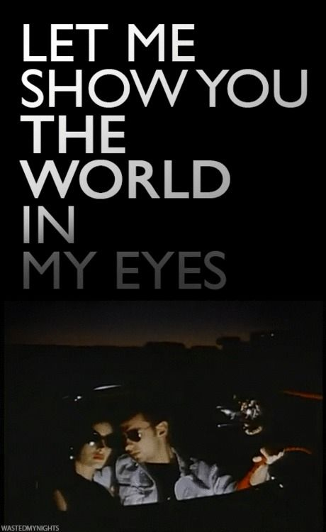 Let me show you the world in my eyes depeche mode pinterest eyes