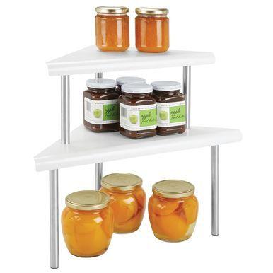 Metal Kitchen Cabinet Corner Shelf For Pantry Storage Pantry