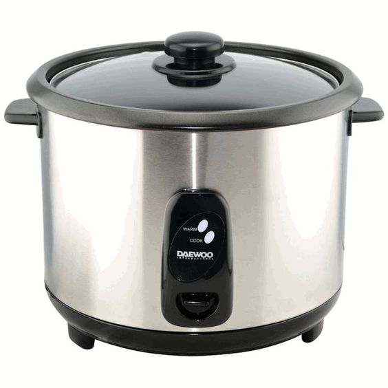 exceptional 220 Volt Kitchen Appliances #6: Daewoo Rice Cooker Liter 220 Volts Export Only . 220 volts Export Only.  Keep warm function. Simple easy to use. Tempered clear glass lid.