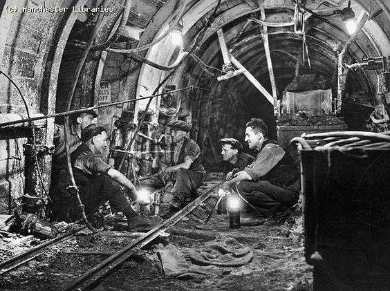 Coal Mining, Gin Pit, Manchester Collieries, 1935 | by archivesplus