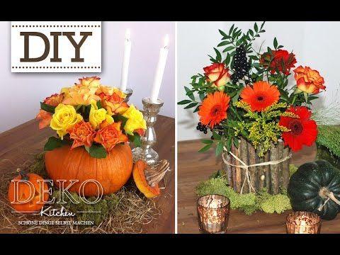 DIY: Vasen mit Blechdosen für hübsche Herbst Dekos | Deko Kitchen