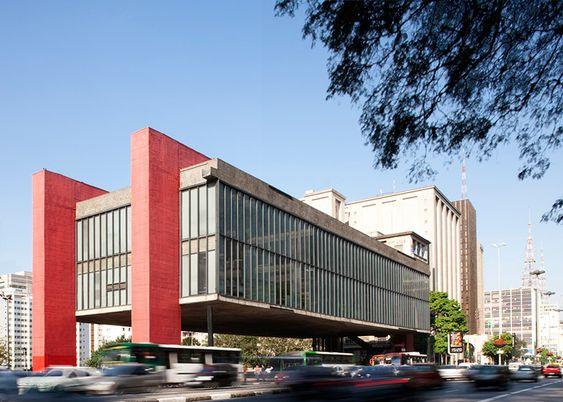 Lina Bo Bardi photography series by Leonardo Finotti – The São Paulo Museum of Art, São Paulo.