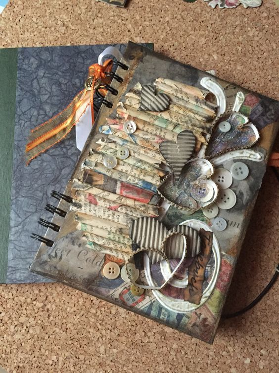 Fotoalbum oder Tagebuch
