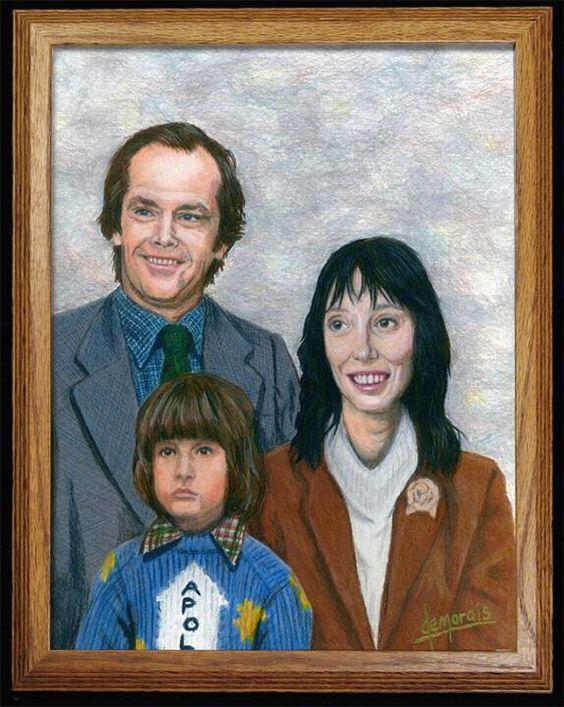 The Shining Family Portrait