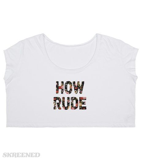 "How Rude  | ""How Rude!"" -Stephanie Tanner #Skreened"