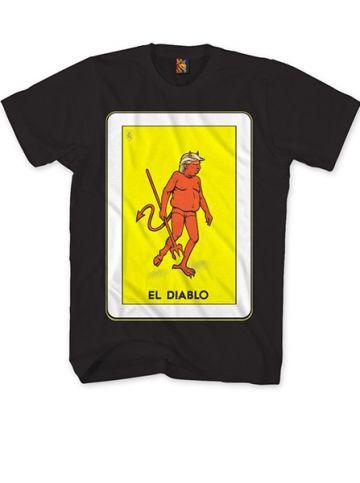 """Men's """"Diablo Trump"""" Tee by OG Abel (Black) #InkedShop #InkedMag #Diablo #Trump #Tshirt #Black"""
