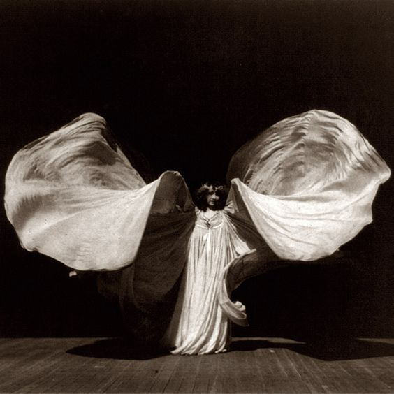 Art Nouveau goddess Loie Fuller pioneered free dance and improvisation, inspiring other innovative figures such as Isadora Duncan and Ruth St Denis in the process:
