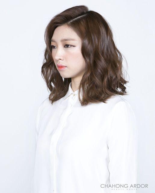 Image Result For Digital Perm Medium Length Hair Digital Perm Short Hair Permed Hairstyles Short Permed Hair
