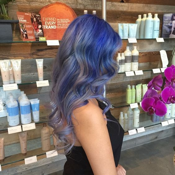Lavender Denim Hair Color