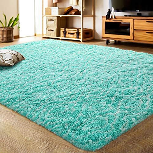 Lochas Luxury Velvet Shag Area Rug Modern Indoor Plush Fluffy Rugs Extra Soft And Comfy Carpet Geometric Moroccan Rugs For Bedroom Living Room Girls Kids Nurs