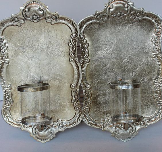 Fabulous Pair of French Rococco Style Wall by PetitFarmhouse, $68.00