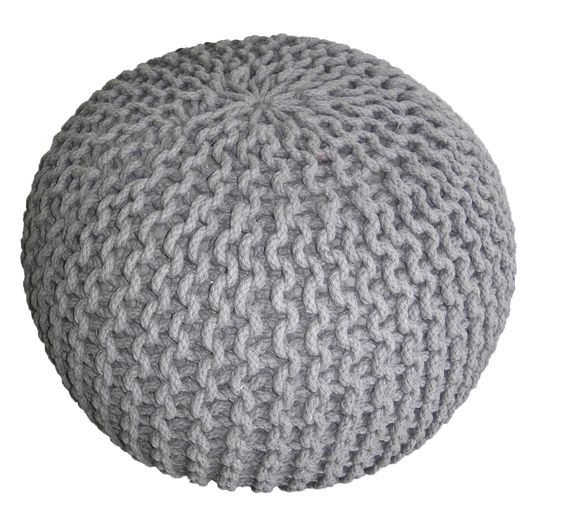 Poufs Ps And Tricot Et Crochet On Pinterest