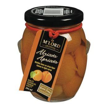 Abricots dans sirop léger