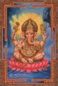 Lord Ganesh Candle Spell For Success and his Removing Obstacles Mantra