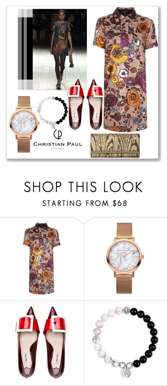 """Autumn Style with Christian Paul Watches!"" by faten-m-h ❤ liked on Polyvore featuring Burberry, Jimmy Choo and christianpaul"