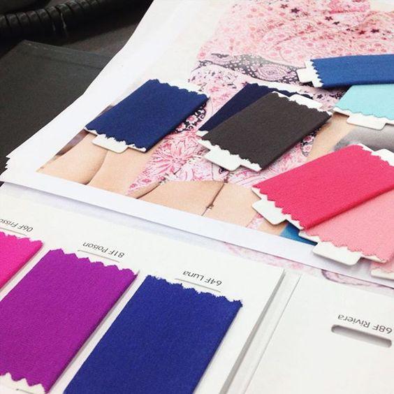 CORES para nossa próxima coleção!  #colors #collection #girls #moda #colecao #cores #OnbongoLove ❤