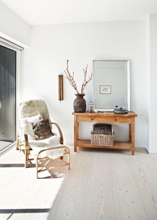 D coration style ethnique inspiration scandinave inspiration amour e - Console style scandinave ...