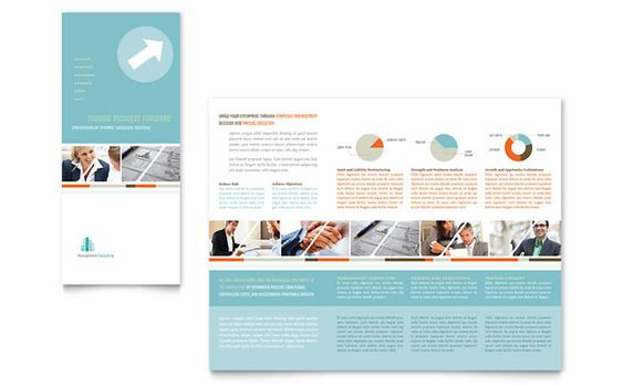 Hairstylist Brochure Template Design by StockLayouts Brochure - free tri fold brochure templates word