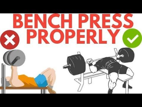 How To Bench Press Properly For Beginners In This Video You Will Learn How To Setup Correctly Bench Press Grip Best E Bench Press Motivation Pressing