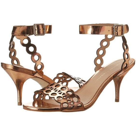 Loeffler Randall Opal (Copper) High Heels ($133) ❤ liked on ...