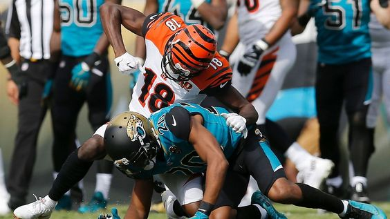 Nfl Should Suspend A J Green And Maybe Mike Evans Jalen Ramsey Jacksonville Jaguars Sports Fights