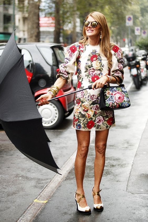Fotos street style Milan Fashion Week: Anna Dello Russo