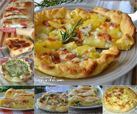 Torte salate ricette facili e sfiziose per capodanno torte for Torte salate facili