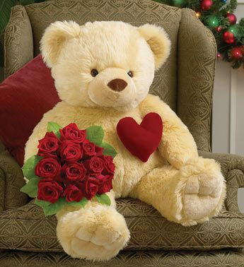 My dream is to get a Teddy bear with pink Gerber daisies and a vanilla cupcake..ever since I was 16