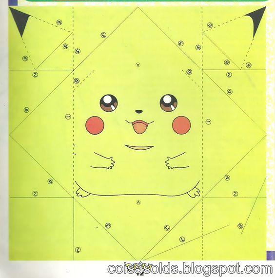 origami pikachu diy crafts pinterest origami search