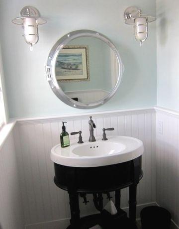 Porthole Mirror Medicine Cabinet: http://www.completely-coastal.com