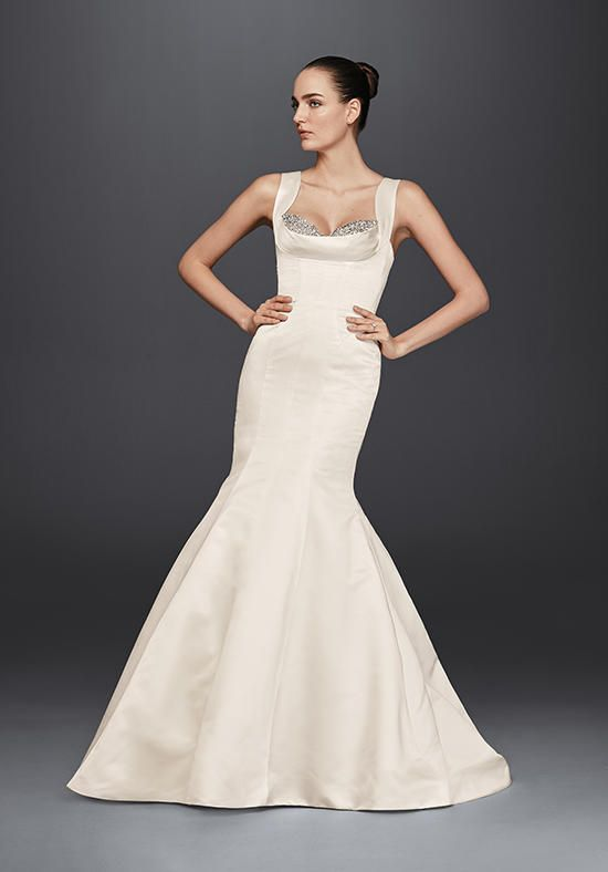 Truly Zac Posen at David's Bridal Truly Zac Posen Style ZP341686 Wedding Dress…
