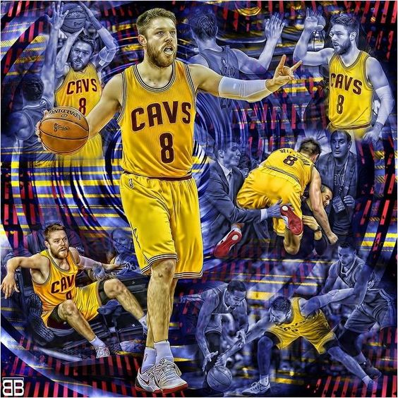 via Instagram |  beyondthebuzzerMatthew Dellavedova scored a career playoff high 20 points to go along with 5 rebounds & 4 assists as the Cavs beat the Warriors 96-91 to take a 2-1 series lead. #nbafinals #matthewdellavedova #cavs #nbaplayoffs #warriors #theland #nba