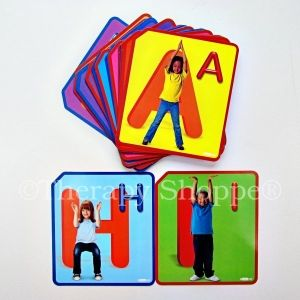 Twist and Spell Exercise Activity Cards