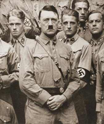 """""""Hitler pushed thousands of white Arian [sic] German women into pregnancy. He demanded that teenage girls attend Nuremberg rally camps, where they had sexual intercourse with boys and became pregnant. In 1936, nine hundred girls came home from the Nuremberg rally pregnant. Unwed mothers were known as the Führer's brides."""""""