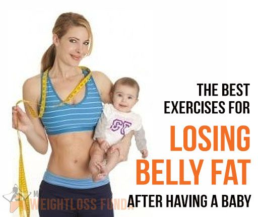 belly weight loss exercise after pregnancy