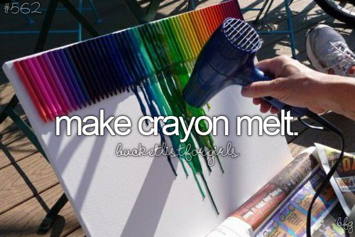 tumblr bucket list crayon art